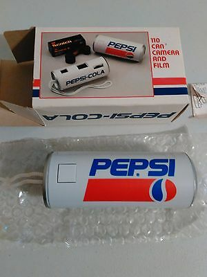 Pepsi Cola Can 110 Film Camera Advertising Soda Pop