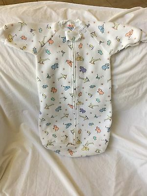 CARTER'S John Lennon Imagine Fleece White Sleep Sack Baby Pajamas One Size HTF