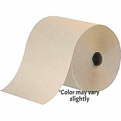 Hardwound Paper Towels  1-Ply  Kraft  8in x 600ft  12 Rolls/Case  BKW6252