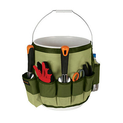 Garden Storage Tools Bag Holders Carrier With Multi Pockets Quick-Pick Versatile