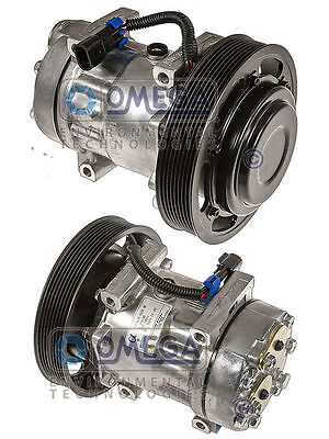 New Heavy Duty AC A/C Compressor Replaces: 20721587, 206RD53MF, 206RD52M, 4326