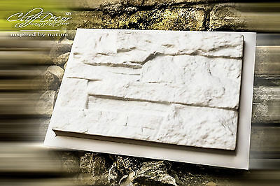 8 pcs. casting molds *NEPAL* for concrete veneer wall stone stackstone tiles ^