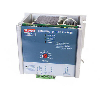 Lovato 31 Bce 0312 Automatic Battery Charger