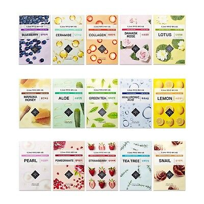Etude House 0.2 NEW Therapy Air Face Mask (10 Piece Set)  B.B Beauty UK