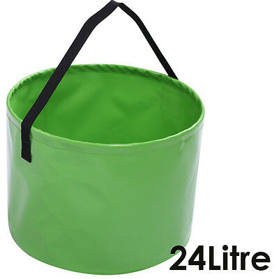 OZTRAIL COLLAPSIBLE 24 LITRE Flat Pack Camping Portable Picnic Bucket 24L