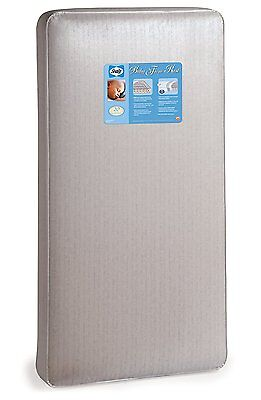 Sealy Baby Firm Rest Infant/Toddler Crib Mattress -204 Premium Coils, Anti-Sag