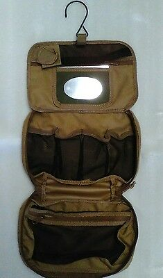 Australian Mil Spec Toiletries Bag Khaki Standard Hd 900D Double Pu Coated -Tas