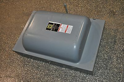 Square D Double Throw, 480 Volt, 200 Amp, Safety Switch, Cat # 82344 Series E02
