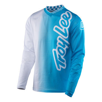 NEW Troy Lee Designs 2017 Mx Gear GP Air 50/50 Blue White Adult Motocross Jersey