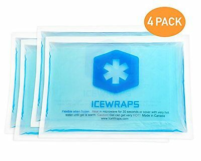 5x7 Gel Pack Reusable Hot or Cold Ice Packs for Pain Relief or First Aid by IceW