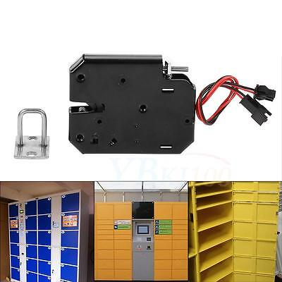 Safe DC 12V Electromagnetic Electric Control Cabinet Drawer Lockers Lock Latch