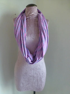 Ivivva By Lululemon Rulu Chill Scarf Pink Gray Girls Excellent Condition