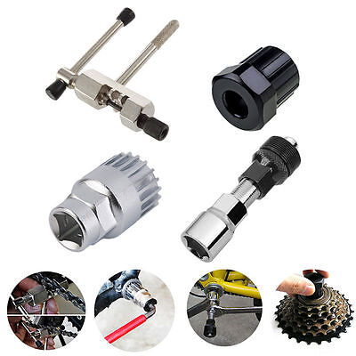 Bicycle Mountain Bike Repair Biking Tool Kit Cranked Puller Remove Flywheel Cut