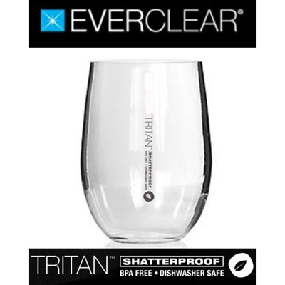 Primus Tritan Shatterproof Stemless Red Wine Glass 590ml BPA Free PRIT590