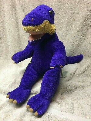 TYRANNOSAURUS BUILD A BEAR t-rex babw dinosaur bab dino PLUSH stuffed BLUE