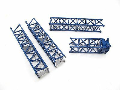 Tower Crane Sections for Truck Load - Blue - 1:87 Scale