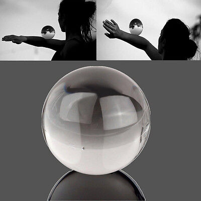 60mm Clear Crystal Ball Contact Ball For Manipulation Juggling Performance