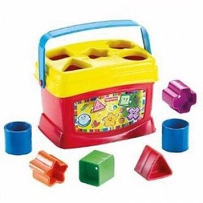 Baby Toy Blocks Toddler Kid Child Interactive Learning Shapes Bucket Colors Gift
