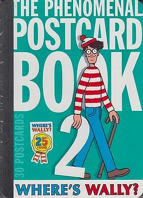 Where's Wally? The Phenomenal Postcard Book 2 by Martin Handford NEW (H/B 2012)