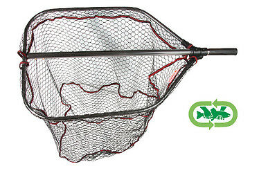 Rapture Aggresso  Tele Folding Rubber Mesh Landing Net Large for Pike and Salmon