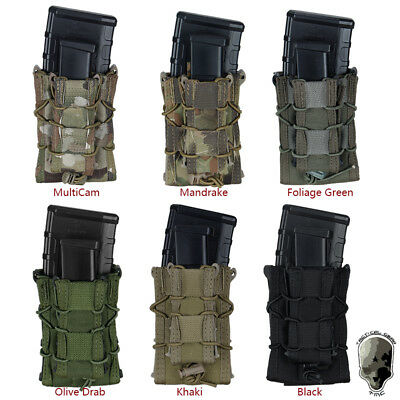 TMC Double Decker TC Magazine Pouch MOLLE Military Mag Pouch Camo Hunting Gear