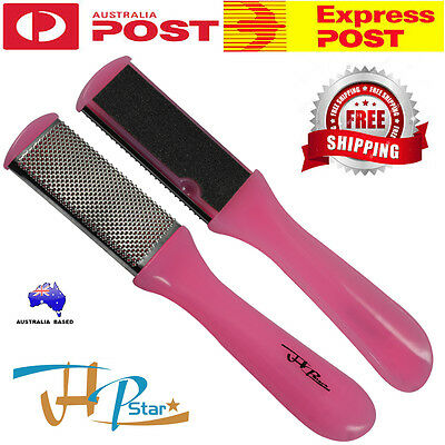 Double Sided Foot File,Pedicure Rasp Scrubber, Cleaner,Dead Skin Callus Remover