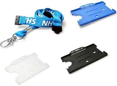 NHS TRIPLE Breakaway Lanyard Neck Strap with ID Card Pass Holder - FREE P&P!!!