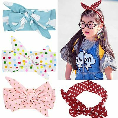 Baby Girl Toddler Bowknot Headband Hair Band Headwear Accessories 0-3 Years
