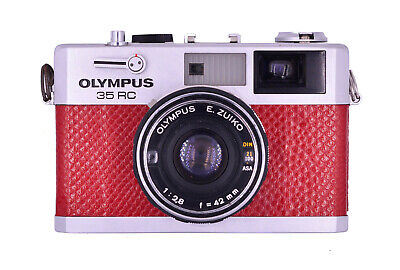 Olympus 35 RC Replacement Cover - Laser Cut Recycled Leather - 5 Colors