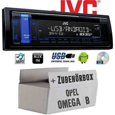 Opel Omega B - JVC Autoradio CD MP3 USB Android RADIO coche set montaje