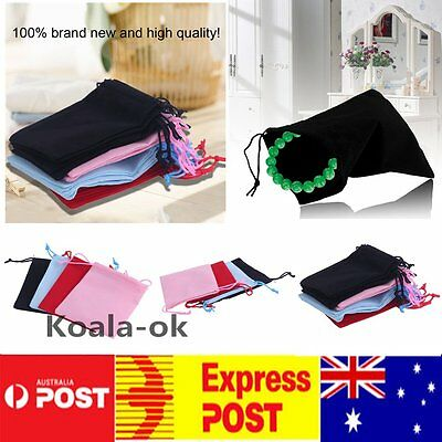 20pcs Gift Bag Jewelry Display 5x7cm Velvet Bag/jewelry Bag/organza Pouch THTR