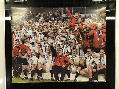 SALE: 2003 World Cup England Champion Offcial Photo (large) + Newspaper Cutting