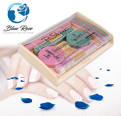 P-Shine JAPANESE MANICURE KIT Natural Nail care Set Unique Glow of Nail Plate