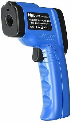 Nubee Temperature Gun Non-contact Infrared Thermometer MAX Display & EMS
