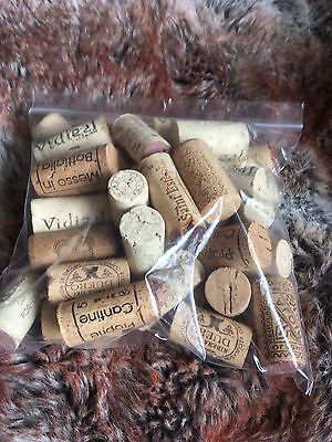 Used Wine Corks Perfect for Arts & Craft Projects Fishing Home Made Wine Making