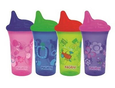Nuby No Spill Drinking Cup Baby Toddler Child Bite Proof BPA Free 270ml 6m+