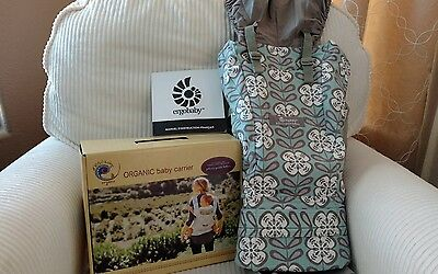 New with box. Ergo Baby Carrier in Petunia Pickle Peaceful Portofino.
