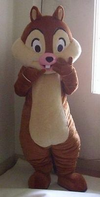 SALE:Hot selling Chipmunk Adult Mascot Costume fancy dress For Festivals party
