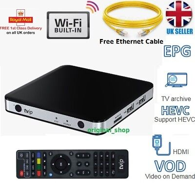TVIP 501 IPTV Box+12 Month Gift Warranty,Top Item, Premium Quality Fast Postage