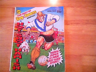 Best Of Roy Of The Rovers Monthly Comic #1 April 1988 Hot Shot Hamish