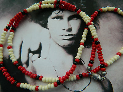 Jim Morrison Cobra Necklace™ Modern Vintage 1980 Limited Edition Red Necklace
