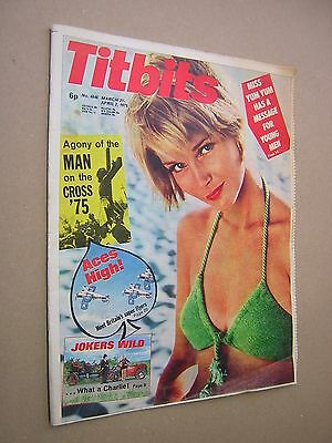 Titbits Magazine. March 27- April 2. 1975
