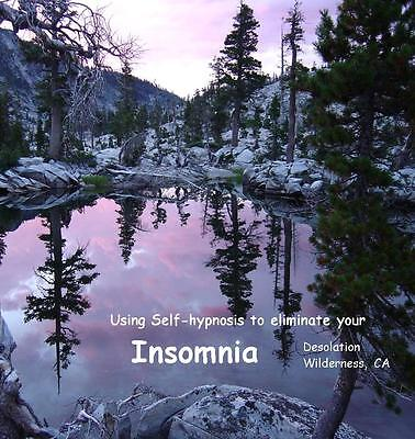 Eliminate Insomnia, Sleep Better, Awake refreshed! ~ Hypnosis CD~ Dr Ginny Lucas