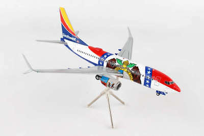 "Airplane Southwest Airlines MISSOURI ONE Boeing 737 Desktop 10.2"" Model Aircraft"