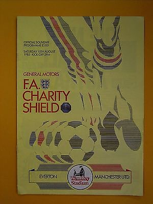 FA Charity Shield - Everton v Manchester United - 10th August 1985