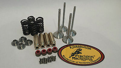 02-08 CRF450R CRF 450R Kibblewhite Black Diamond Valve Springs Head Rebuild Kit