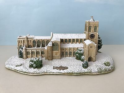 Lilliput Lane (L3241) WINTER AT CHRISTCHURCH PRIORY Ltd Ed 338/1000 - Box & Cert