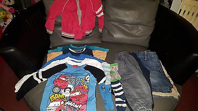 Bundle Of Boys Clothes 2-3 Years Great Condition 14 Items Children's Job Lot
