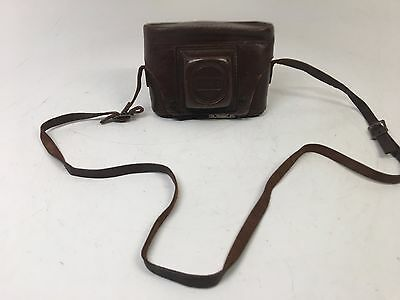 Mercury II 35MM Camera with Original Leather Case and Strap