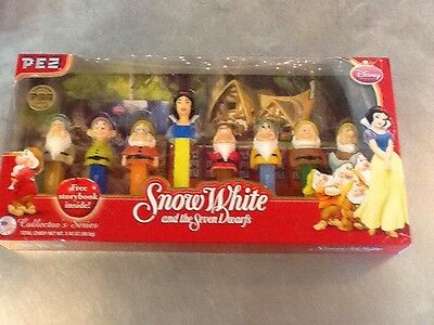 Pez Limited Edition - Snow White And The Seven Dwarfs - A Disney Collection